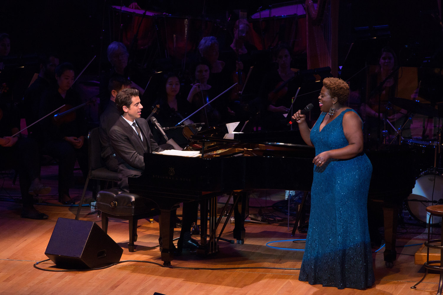 "The Jacksonville Symphony will be joined by singers Tony DeSare and Capathia Jenkins on March 29 and 30 at 8 p.m. for the performance of ""Frank and Ella."""