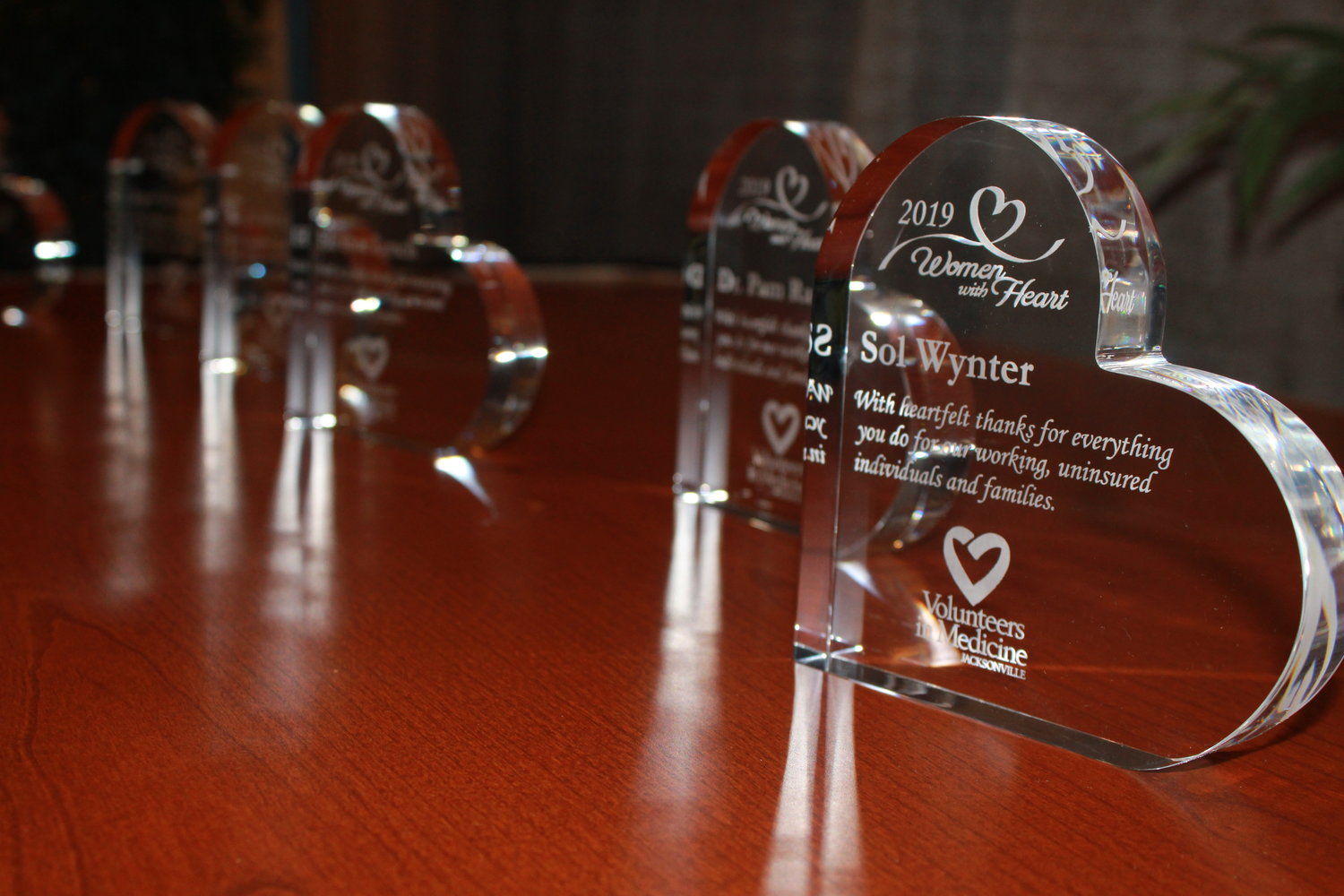 The Women with Heart luncheon honored 12 local women for their contributions to the community.
