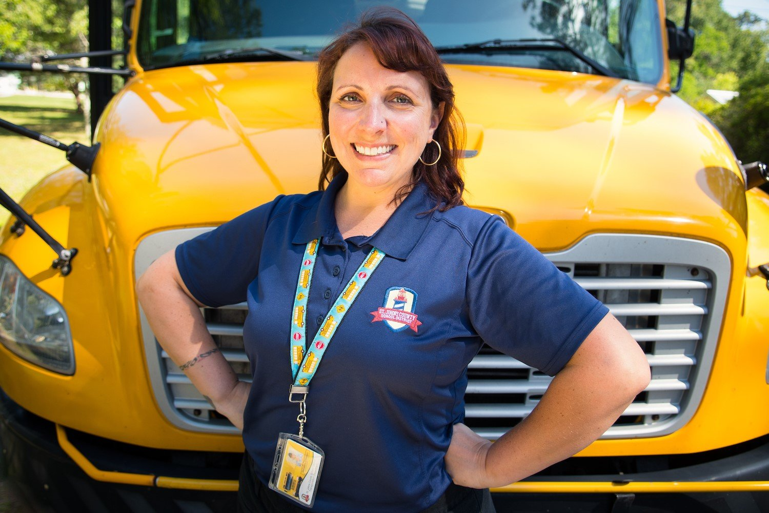The St. Johns County School District (SJCSD)'s Transportation Department is actively recruiting new bus operators.