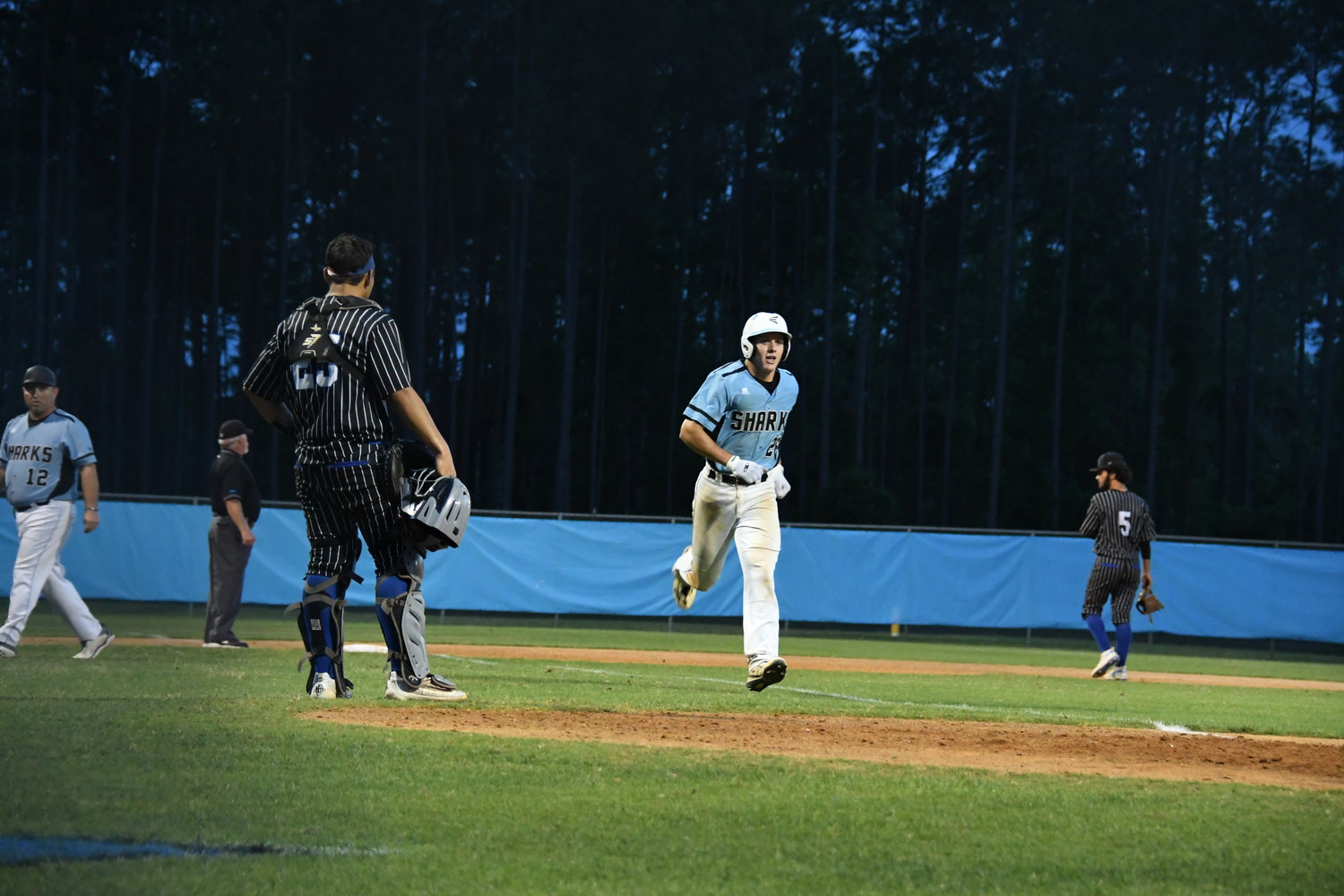 Tony Roca scores for Ponte Vedra on a home run in the sixth inning.