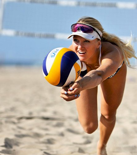 Ponte Vedra native Corinne Quiggle is making a name for herself in the professional beach volleyball scene.