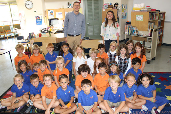 On Wednesday, May 22, the Bolles Lower School Ponte Vedra Beach students met with Valerie and Bryce, world travels who just came back from a trip to South America, Galapagos Islands and Antarctica.