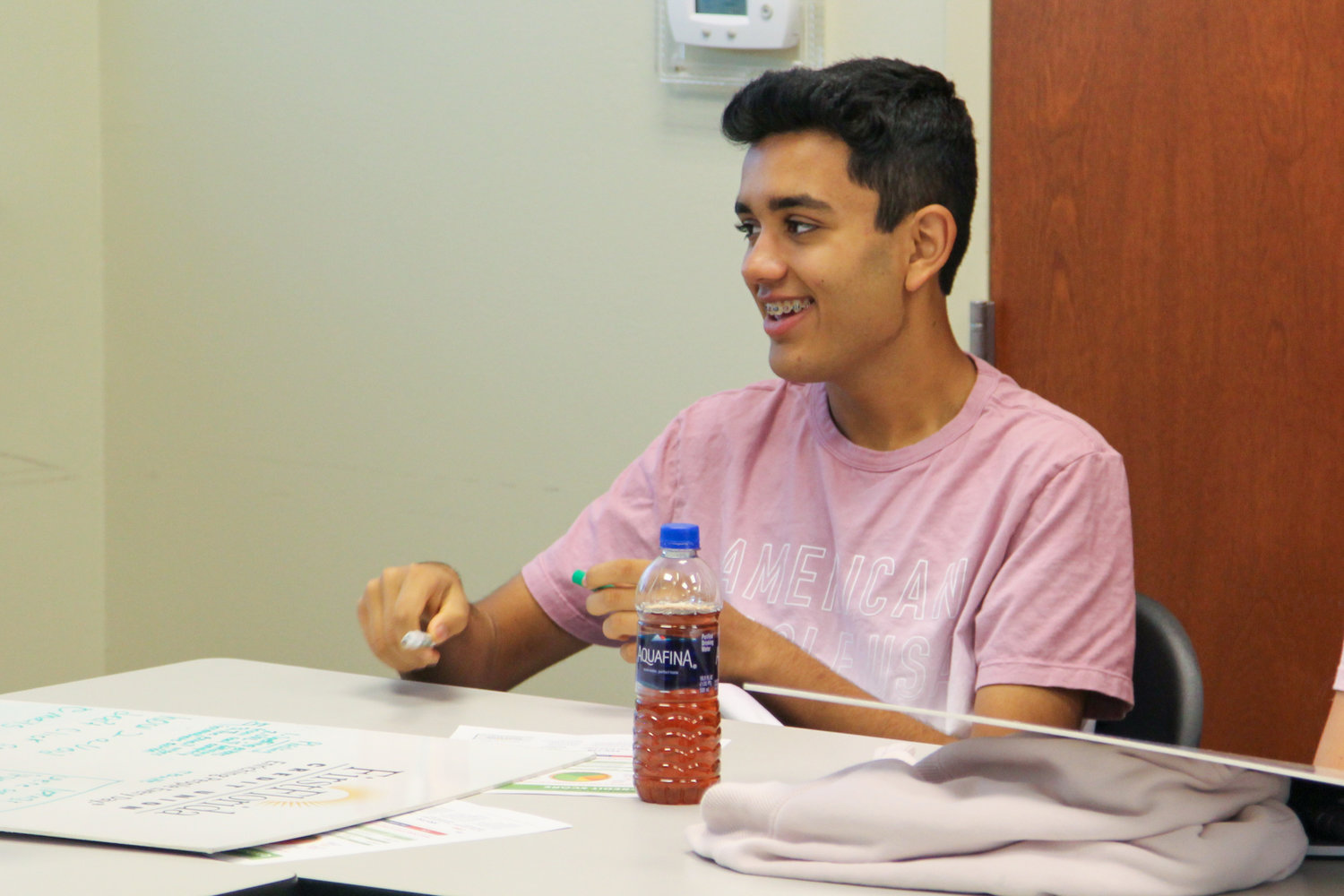 Nease High School junior Shivam Shah attended last week's Camp C.E.O., a free financial literacy camp hosted by First Florida Credit Union at its County Road 210 branch.