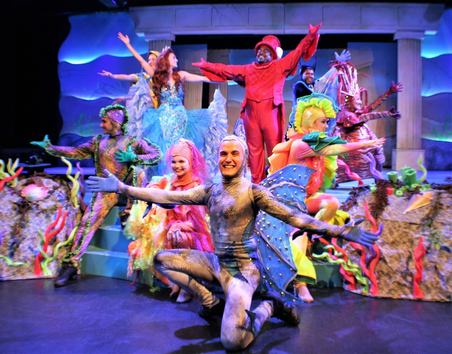 """The Little Mermaid"" is showing at Alhambra Theatre & Dining through July 28."