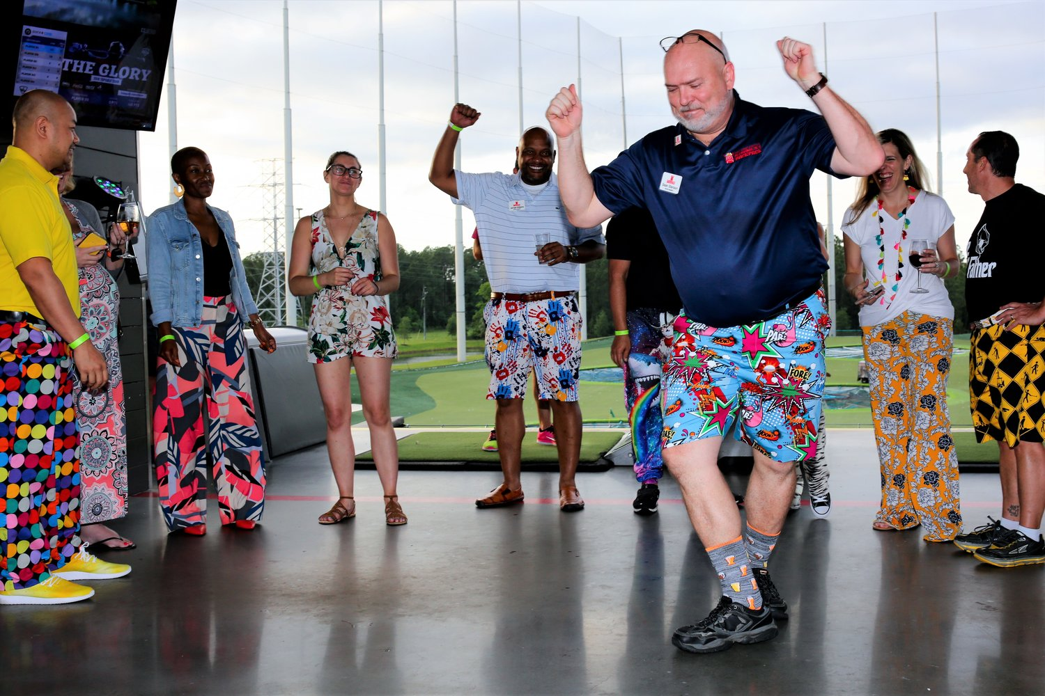 The 2019 Fancy Pants Fiesta was celebrated on the top floor of TopGolf in Jacksonville on May 5. Funds raised go directly to providing hunger-free weekends for local children through the nonprofit, Blessings in a Backpack.