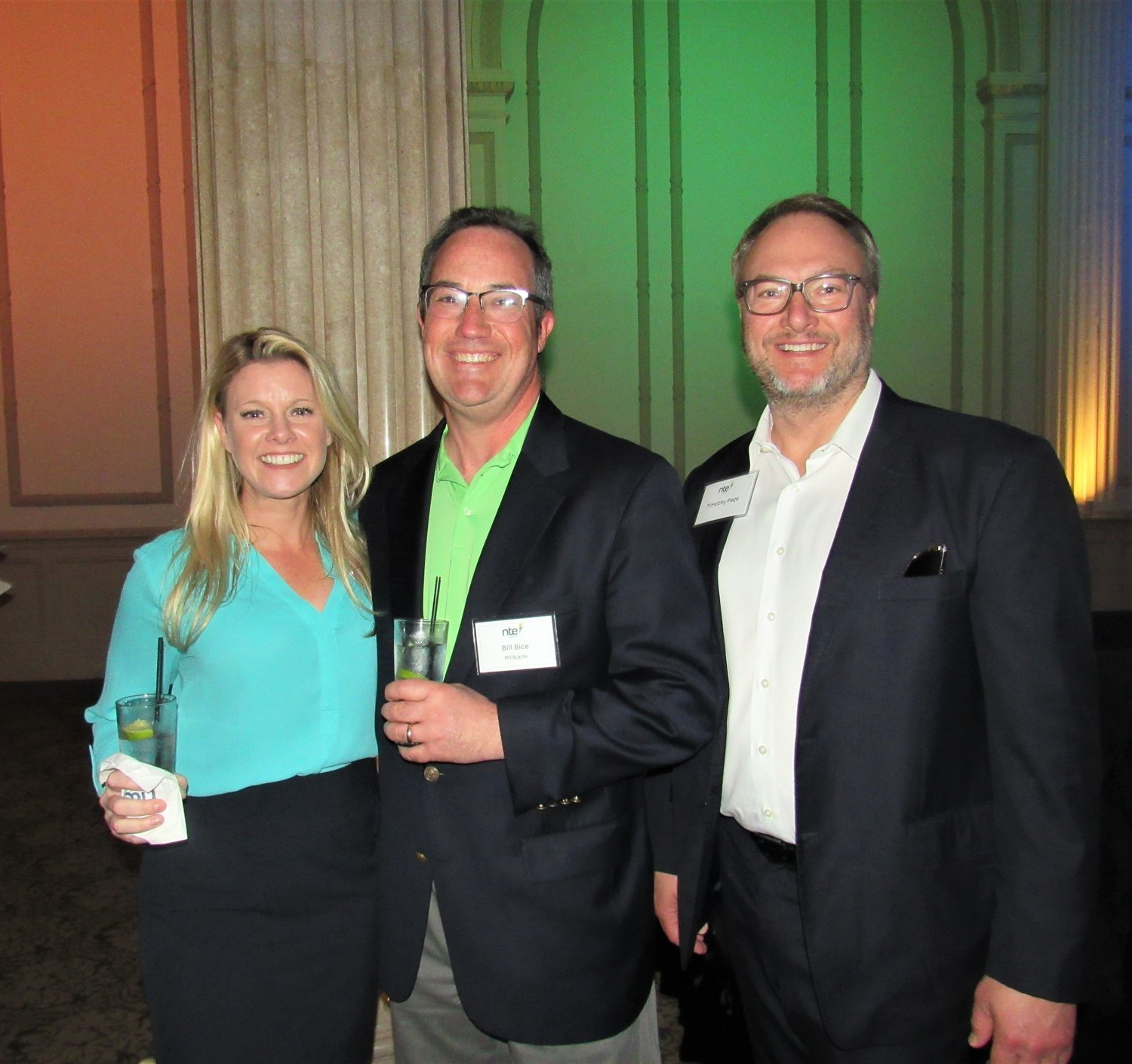NTE Energy CFO Stephanie Clarkson, Bill Bice and Timothy Page