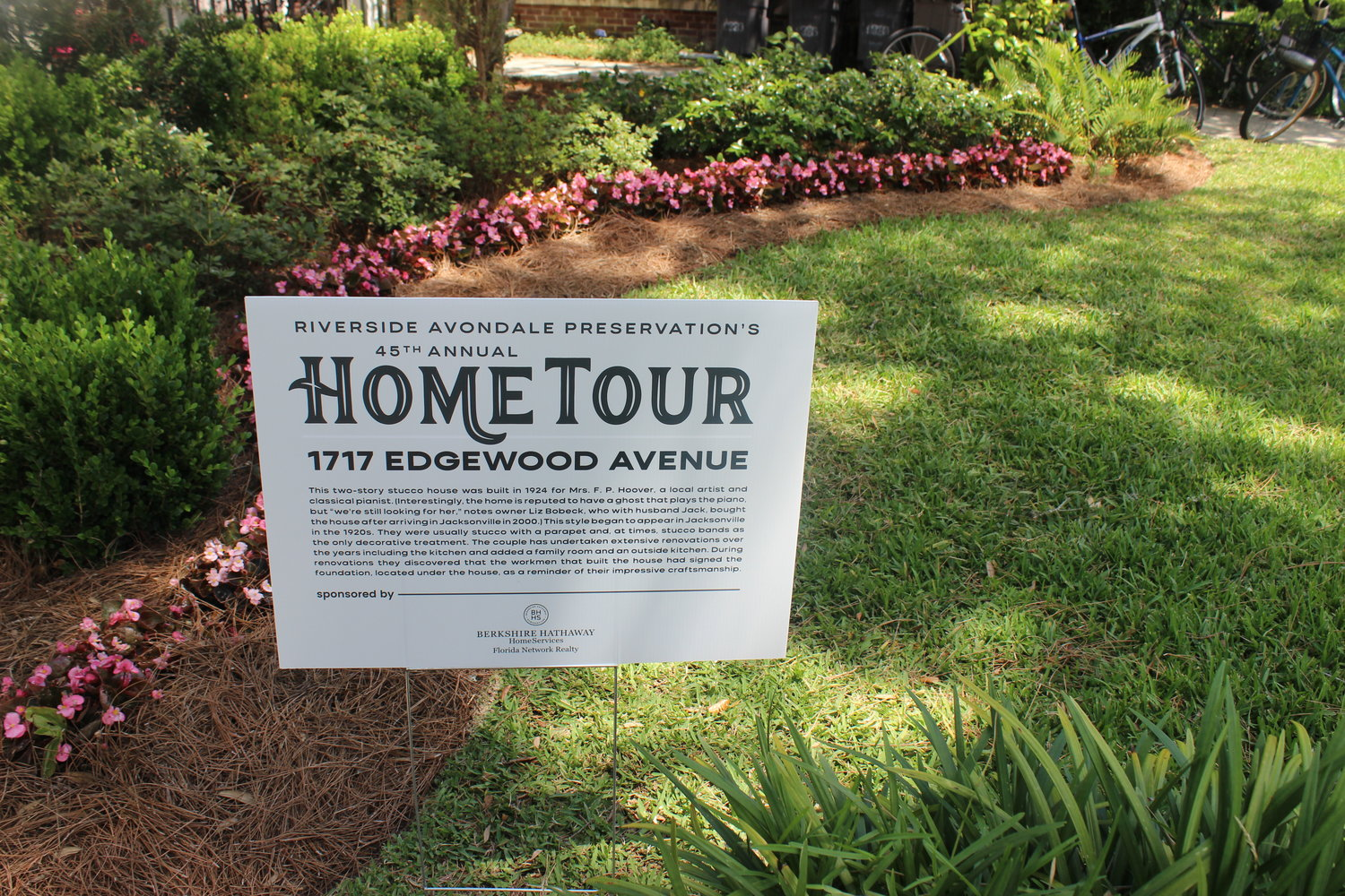 The RAP 2019 Spring Home Tour offered a look into the historic district of Riverside and Avondale.