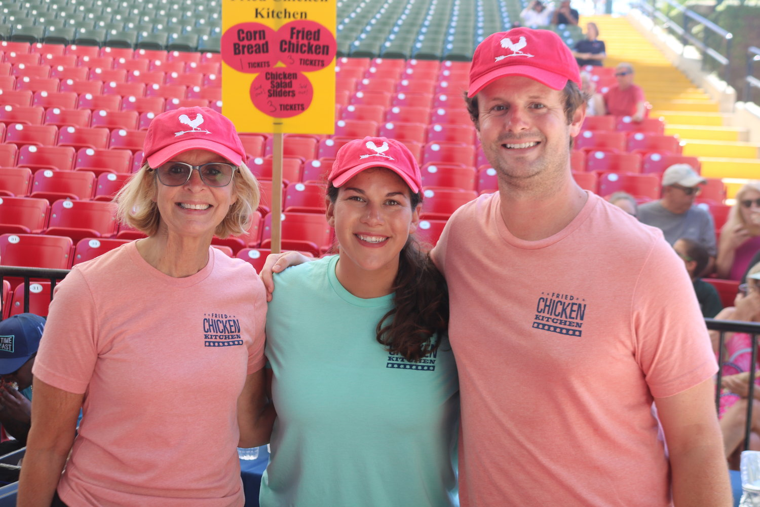 Cathy Smith, Spencer Upchurch and Christina Costuk of Fried Chicken Kitchen
