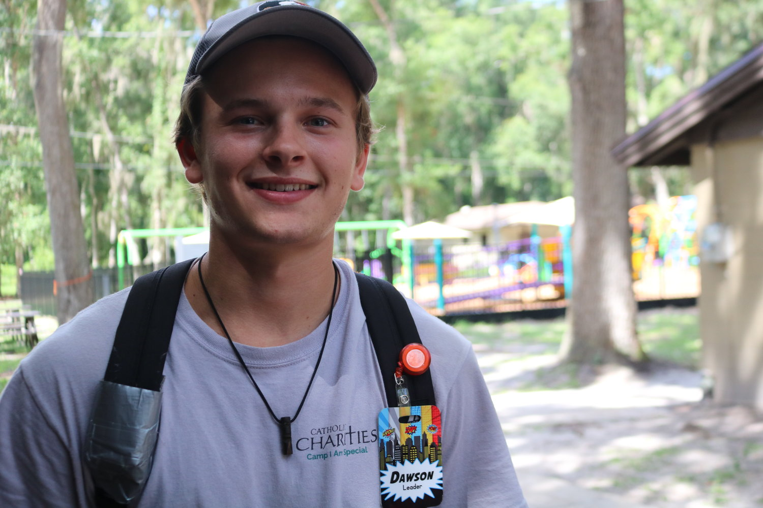 "Camp ""Buddy"" and Leader, Dawson Wakefield said although he's looking forward to attending FSU, he'll definitely be back to volunteer at Camp I Am Special again."