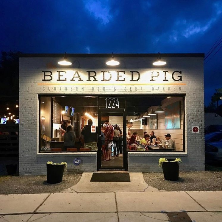 The Bearded Pig is located on Kings Avenue near the San Marco area in Jacksonville.