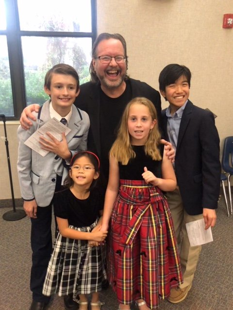Jim Goodell's 9 a.m. youth ensemble, 'Joy,' teaches children the joy of singing in choir.