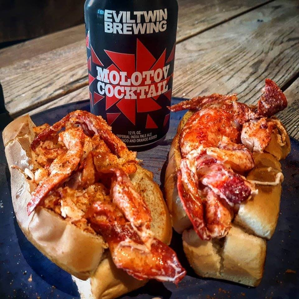 Coastal Wine Market's lobster roll is available year-round.
