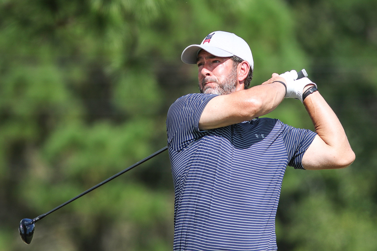 Paul Tesori won the 2018 Mid-Amateur title in last year's St. Augustine Amateur, his first time playing the event. Testori started off strong with a 67 (3 under par) on Friday, but ended the tournament tied for third in the Mid-Am with a 4-over 214. Tesori has been Webb Simpson's caddie since 2011.