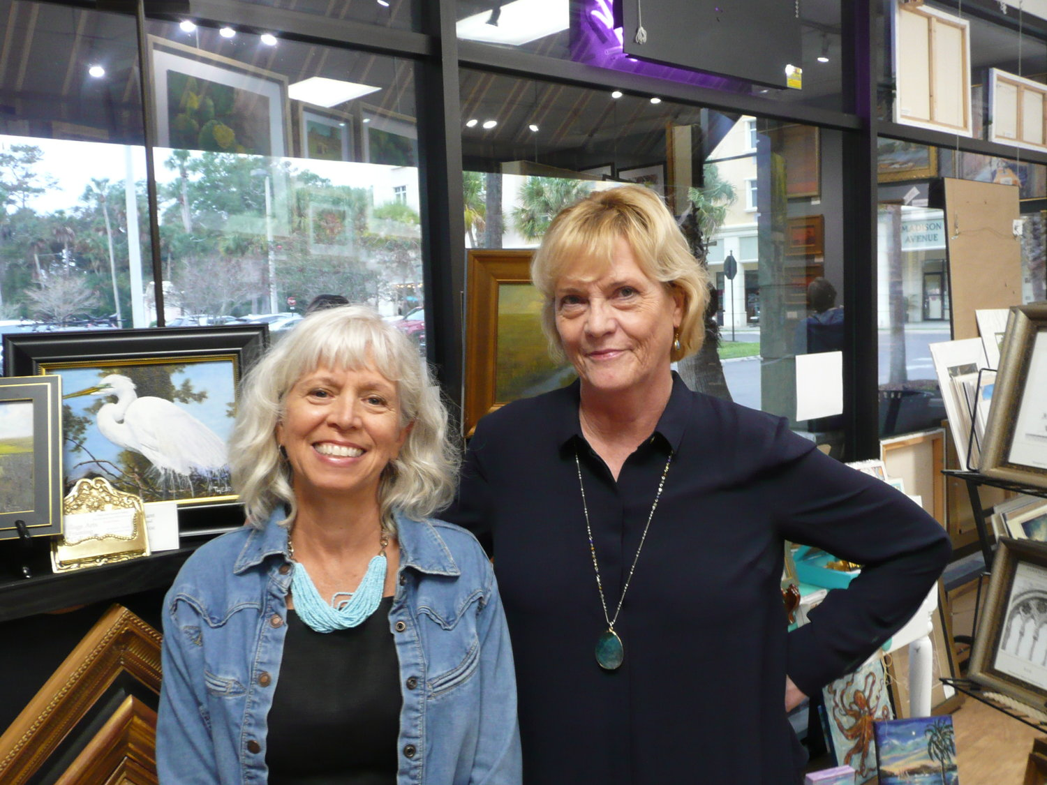 Lisa Cederberg-Local Artist, Pamela Keegan-Owner