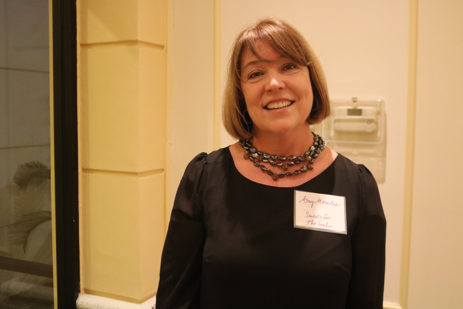 2.	Amy Morales attended the WFA as a new member and introduced the ladies of hospitality to her upcoming business.