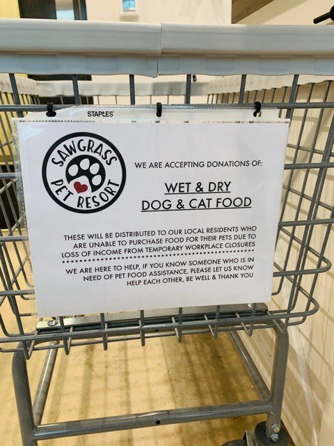 The location is thoroughly sterilized daily, according to a statement released by the resort, that also provided information for pet owners in regards to the COVID-19 outbreak.