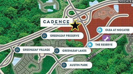 New apartment community, Cadence at Nocatee, is expected to begin construction in August and be available for residency in fall 2021.