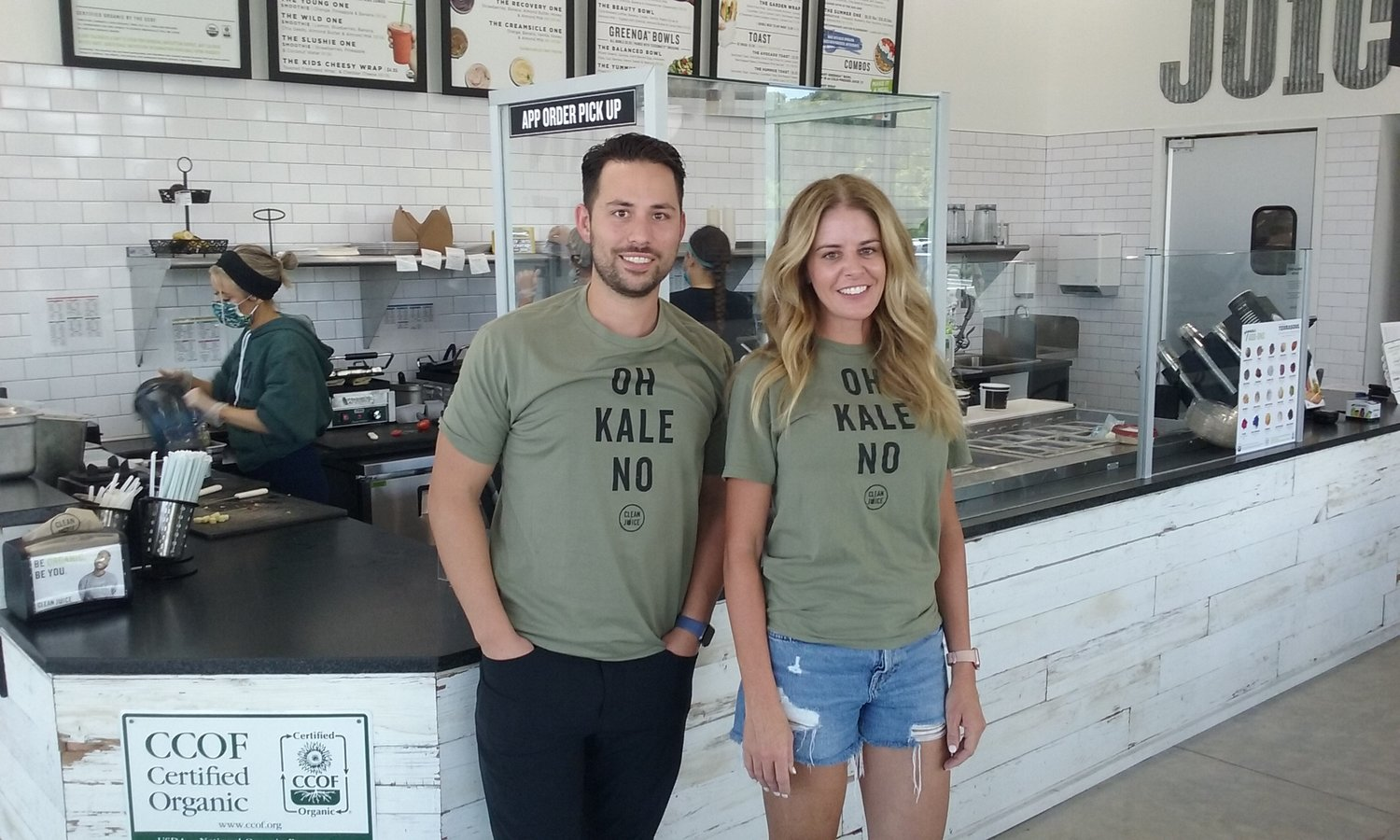Sam and Angie Lacey recently opened their Clean Juice franchise in Nocatee and the response from the public has been strong.