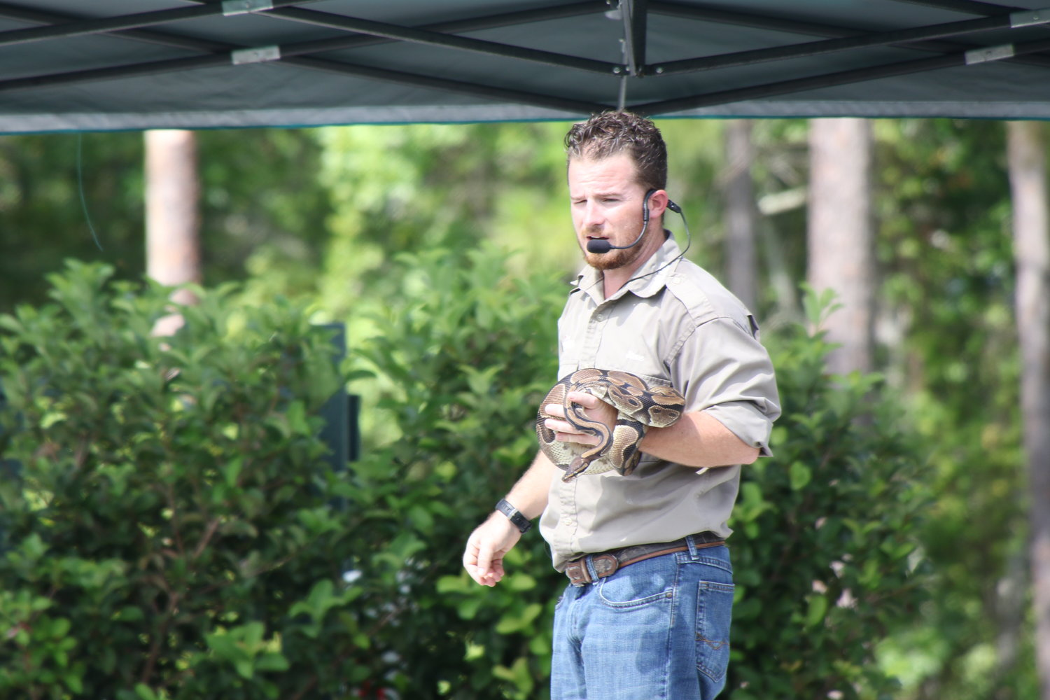 Gatorland returns to the Nocatee Farmers Market this weekend for a special wild encounters experience.
