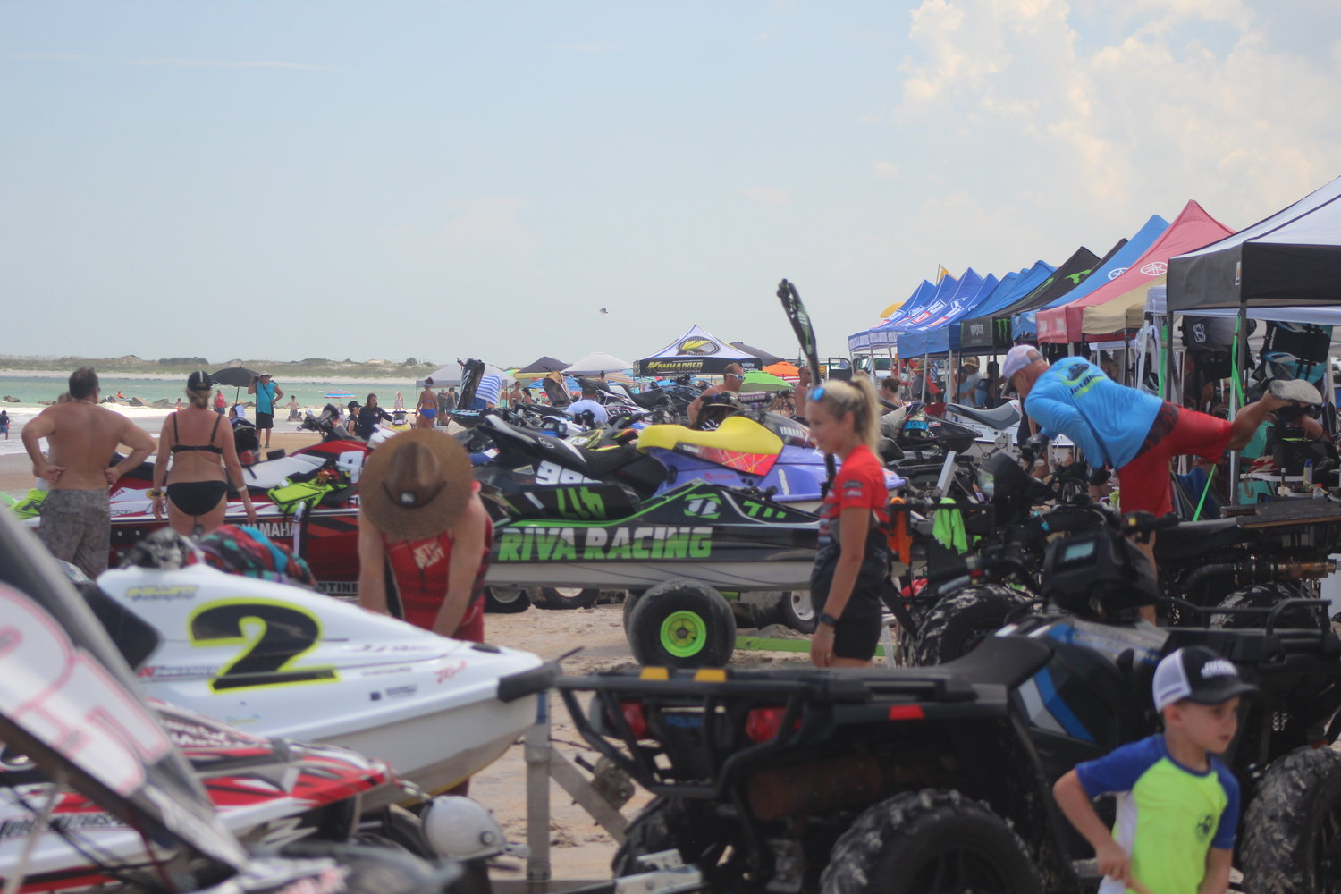 The LiquiMoly ProWatercross National Tour event was held last weekend at Vilano Beach.
