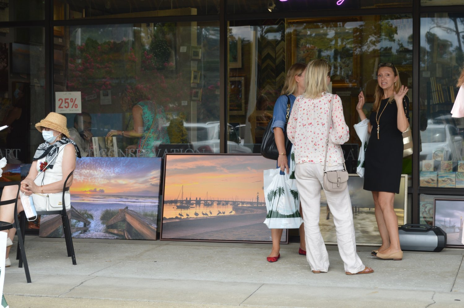 On Saturday Aug. 29, members of the Ponte Vedra community gathered together at the Village Arts Gallery to celebrate the release of Dr. Razvan Balotescu's first book, a collection of photos titled the St. Augustine Coffee Table Book.