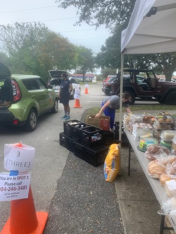 USO of Greater Jacksonville runs a food pantry to help young enlisted families.