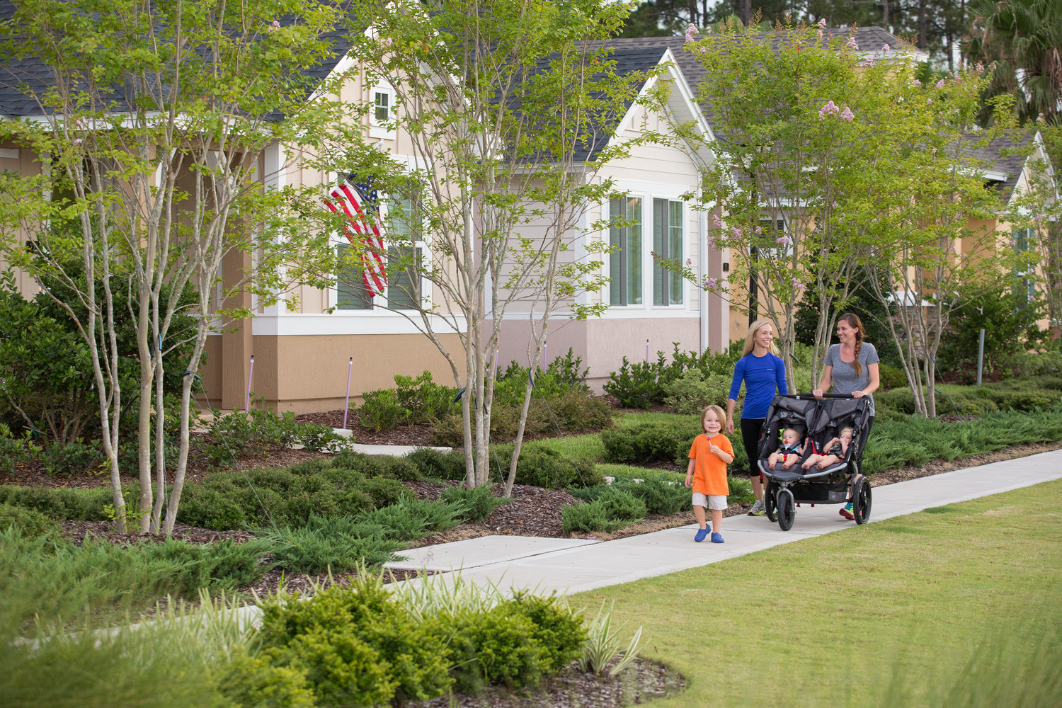 Nocatee has 41 neighborhoods comprised primarily of single-family homes.