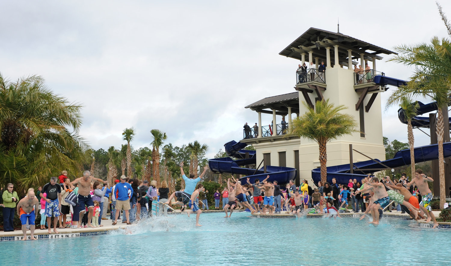 Nocatee's Splash Water Park and Spray Water Park are favorites among residents.