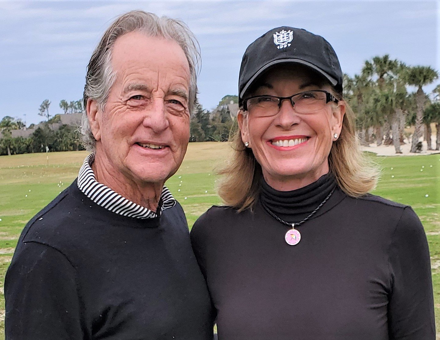 Bob and Melissa Gotfredson won the Couples Division at the JAGA Family Championship.