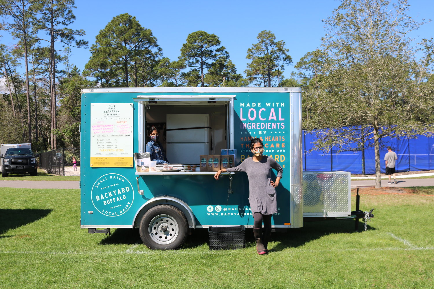 Punita Patel of Palm Valley-based Backyard Buffalo is going to be a regular vendor at the Nocatee Farmers Market.