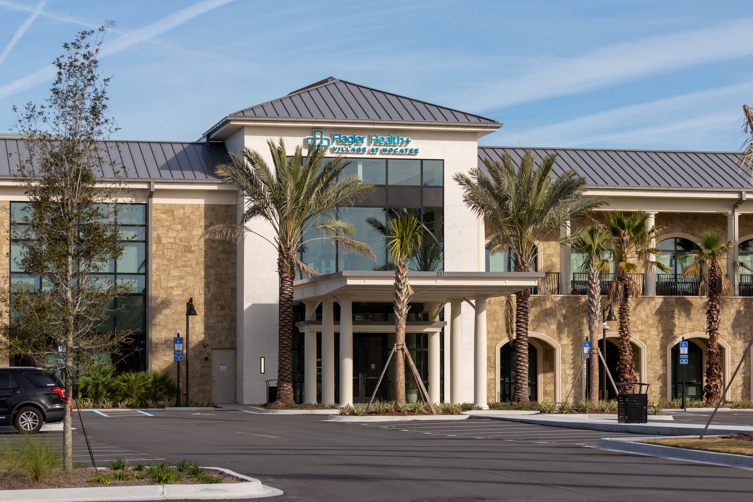 Flagler Health+ Village at Nocatee includes a multi-story medical office building totaling 40,000 square feet.