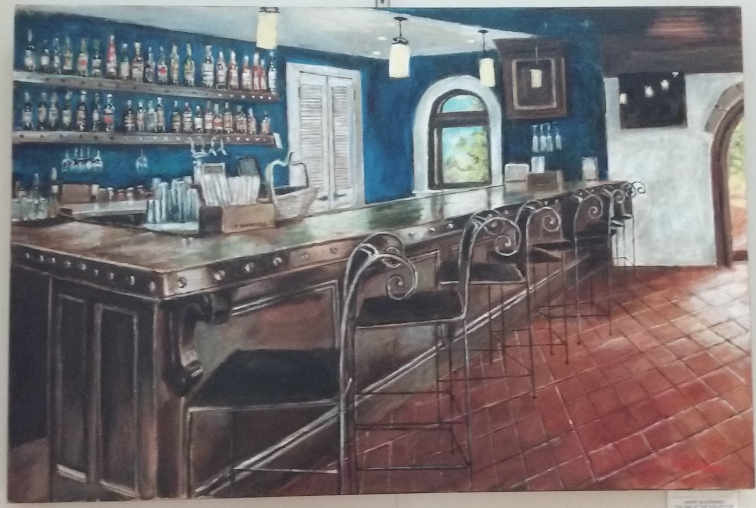 """The Bar at the Collector"" by Harry McCormick"