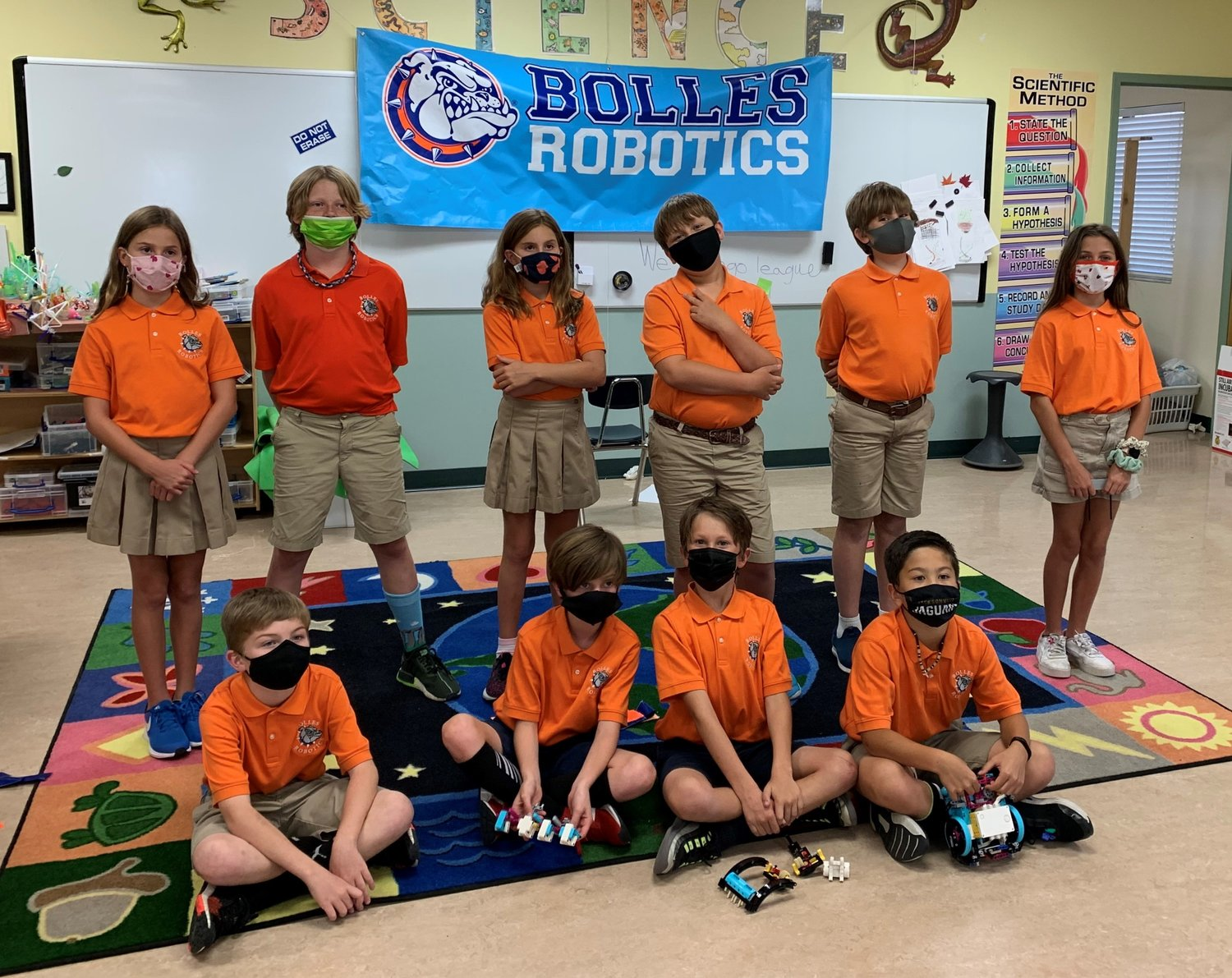 Bolles Team FBI from the Ponte Vedra Beach Campus won the Innovation Project Award.