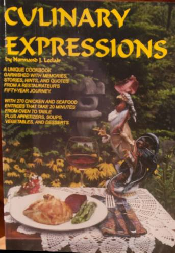 """Culinary Expressions"" by Normand Leclair"