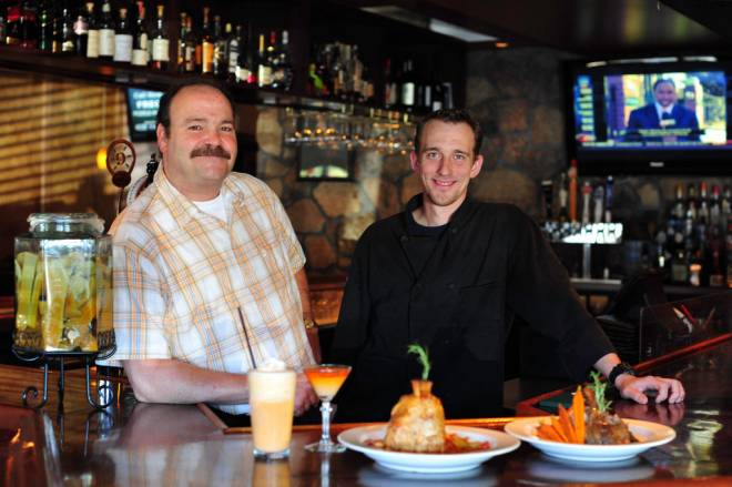 (L-R) Owner Jeff Cooke and Chef Rob Dennis