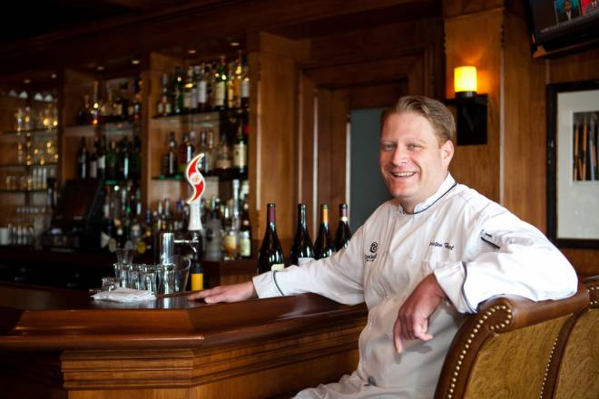 Chef Karsten Hart of Castle Hill Inn