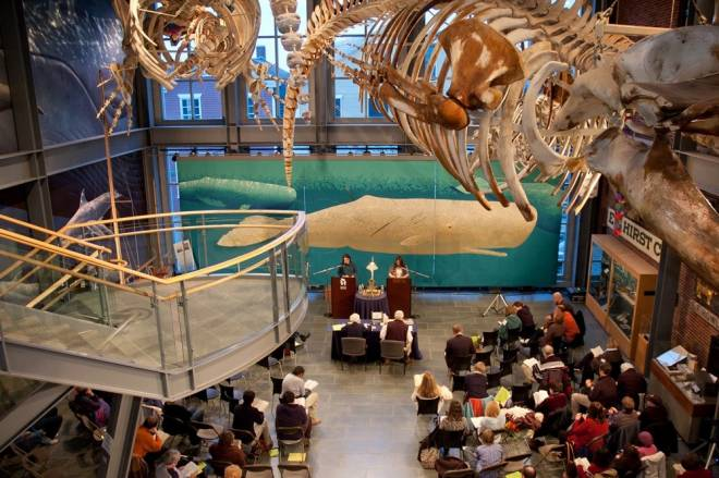 The New Bedford Whaling Museum hosts the 16th annual Moby Dick Marathon from January 6-8