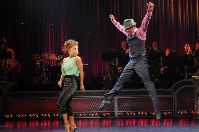 Come Fly Away, based on the music of Frank Sinatra, comes to PPAC in March