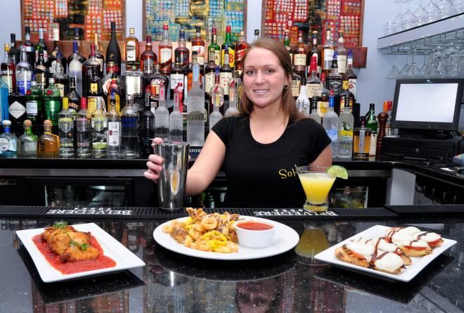Behind the bar at Narragansett Pier's new SoHo Ristorante