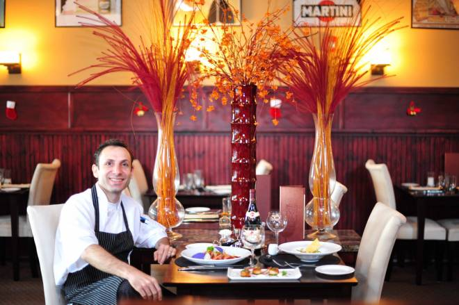 Chef Rizwan Ahmed of Bristol's Hourglass Brasserie