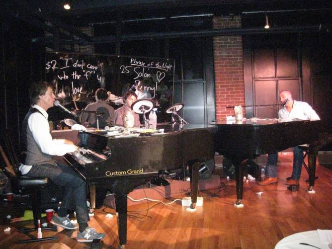 Point Street Dueling Pianos opened in the Davol Square space formerly occupied by the Hi-Hat