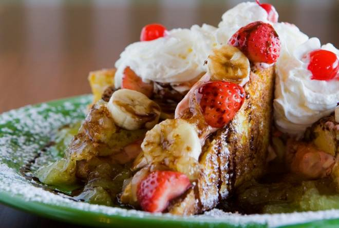 Make your own French toast at T's Restaurant in East Greenwich