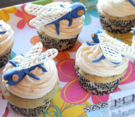 Silver Spoon Bakery's Big Blue Bug cupcakes won the Best Historic Landmark category at last year's Cupcake Madness