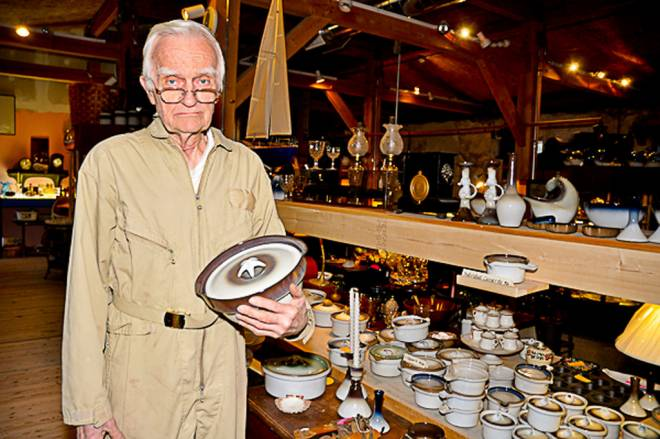 Oliver Greene of Peter Pots Pottery
