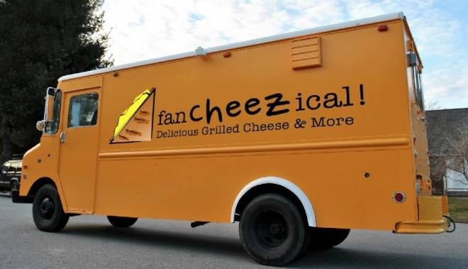 Fancheezical is a new food truck serving gourmet grilled cheeses in Providence