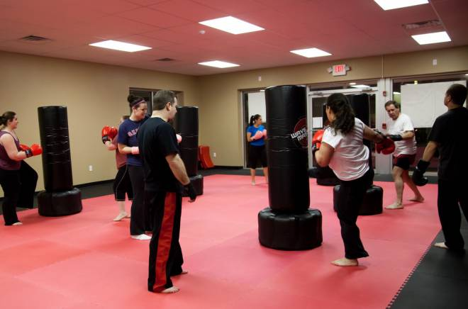 Kickboxing at Rhode Island Martial Arts in North Providence