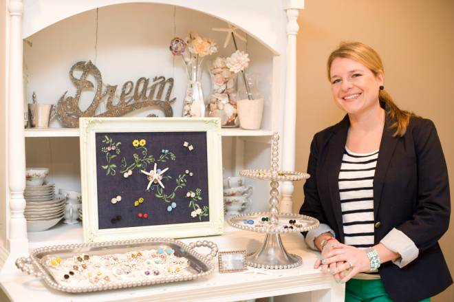 Laura Cyr designs Sea Star jewelry