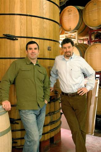 John and Paul Nunes of Newport Vineyards in Middletown