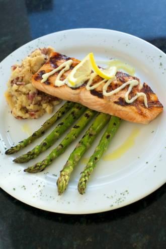 Grilled Atlantic Salmon at SoHo