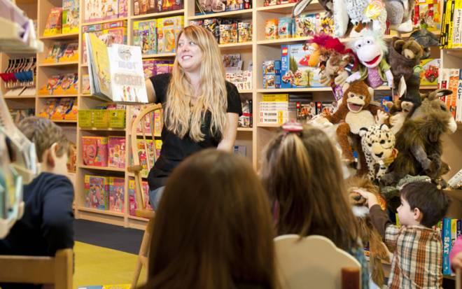 Children's Story Hour at Barrington Books